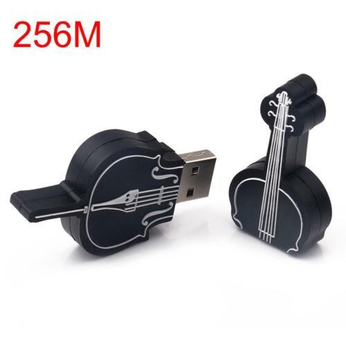 Electric Violin Shape USB2.0 Flash Drive Novel Memory Stick Gift Pendrive GA