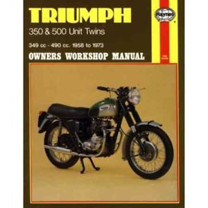 Anleitungen & Handbcher Triumph 350 500 Twins T90 5TA T100 3TA ...