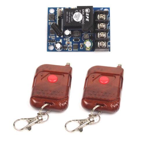 40A 12V-48V 12V 24V 36V 48 Wireless RF Remote ON OFF Transmitter+Receiver On//Off