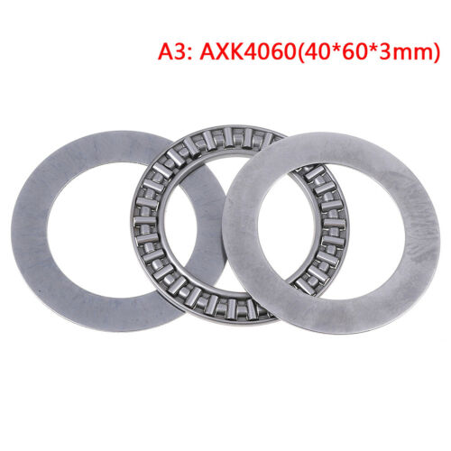 AXK series axial needle roller thrust bearings with two*washers AXK3047-AXK75 KA