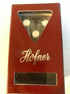 Hofner Vintage-style Effets Guitare Blues Pédale Neuf-afficher Le Titre D'origine