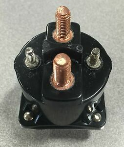Details about Starter Solenoid for Dump Trailer Hydraulic Pump - 4 Terminal