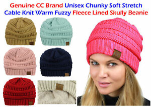 84b1c5fe Image is loading Bubble-Knit-Slouchy-CC-Baggy-Beanie-Oversize-Winter-