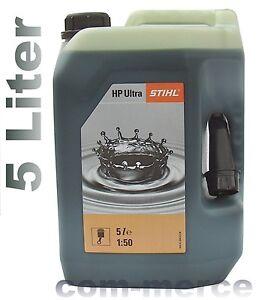 stihl hp ultra zweitaktmotoren l misch l 5l 2 takt l oder 1 liter hp 8063 ebay. Black Bedroom Furniture Sets. Home Design Ideas