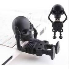 Cool Black Skull Man High Speed 8GB USB2.0 Flash Memory Stick Pen Drive U Disk x