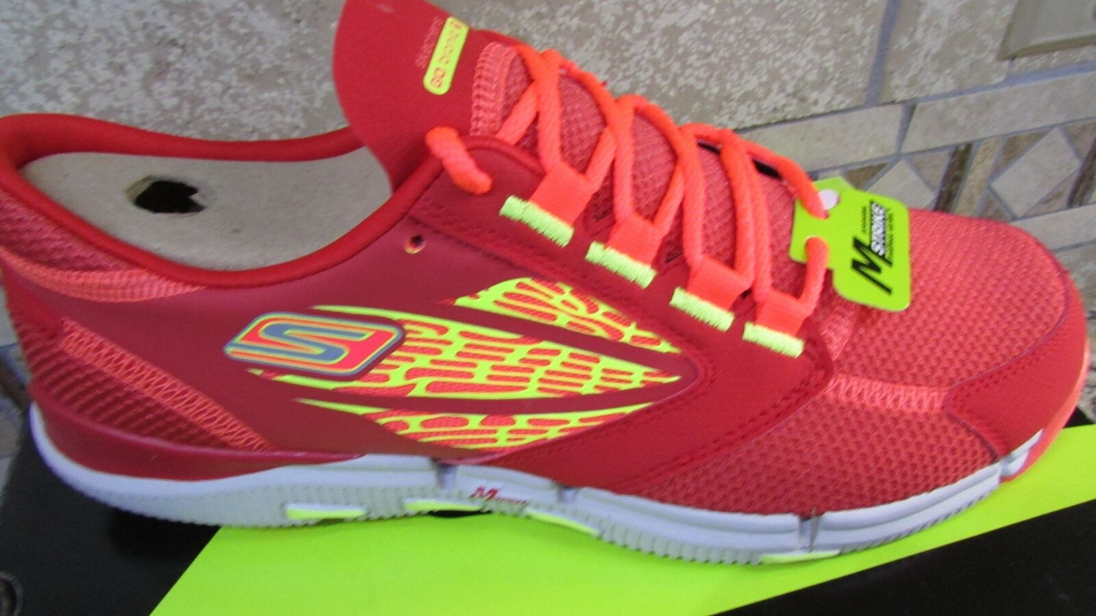 NEW SKECHERS GOBIONIC RIDE ATHLETIC SHOES MENS 7.5  SNEAKERS The latest discount shoes for men and women