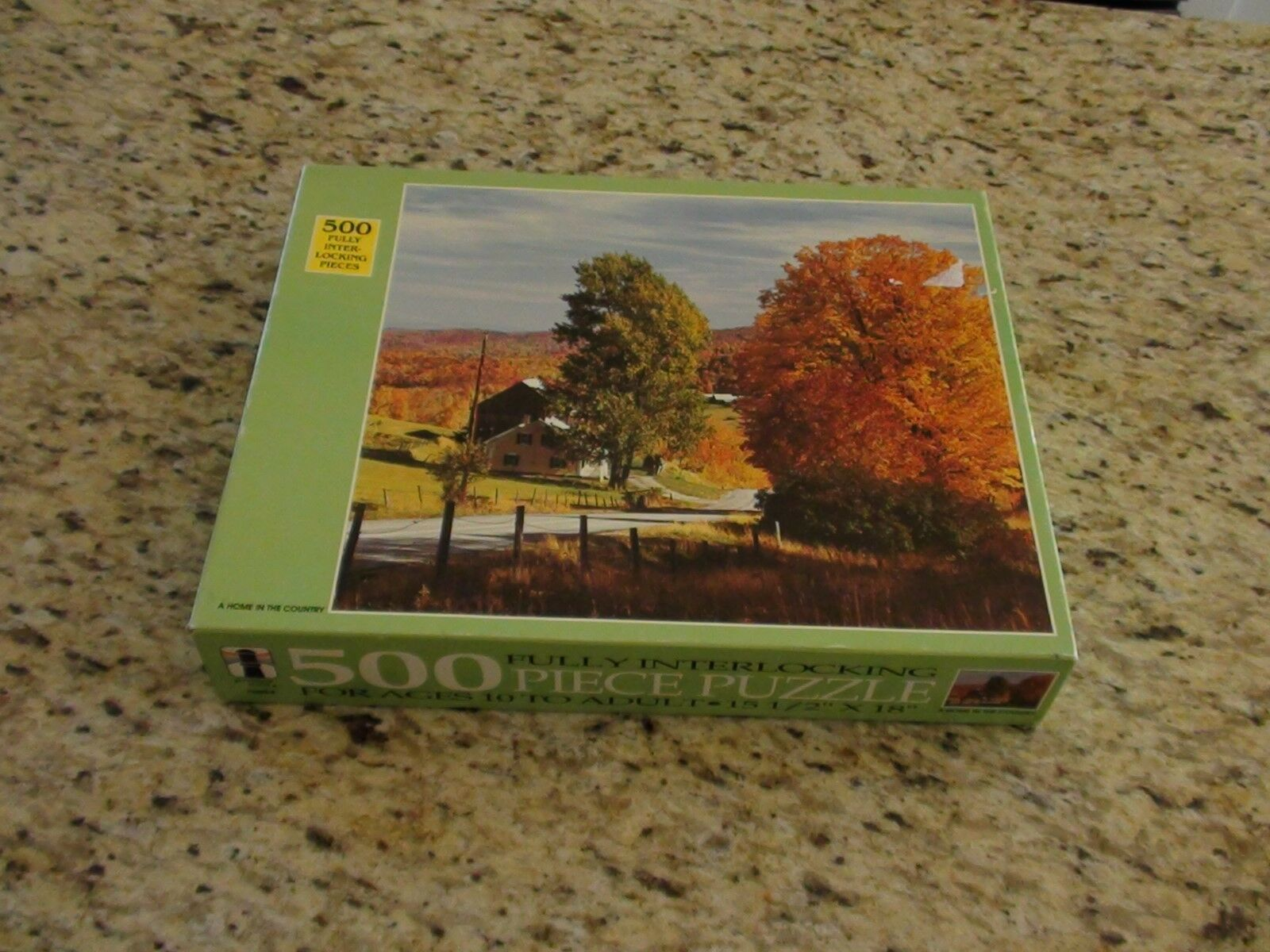 NEW SEALED Rainbow Works 75920-4 A Home in the Country 500 Piece Puzzle