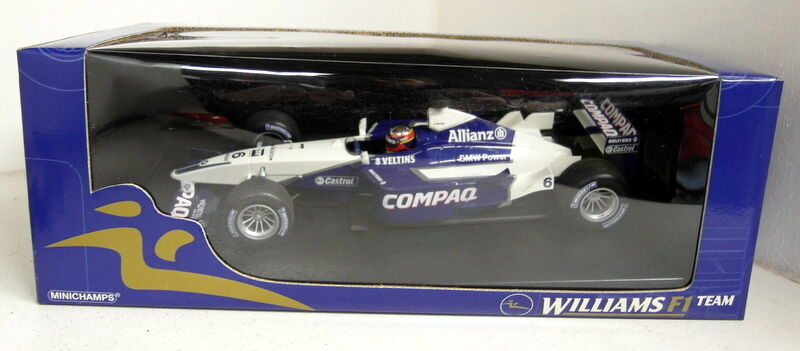 Minichamps 1 18 SCALA 100 010006 Williams BMW fw23 J.P Montoya Modello Diecast Auto
