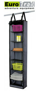 Image is loading EUROTRAIL-Hanging-Storage-Cupboard-Unit-with-7-Storage-  sc 1 st  eBay & EUROTRAIL Hanging Storage Cupboard Unit with 7 Storage ...