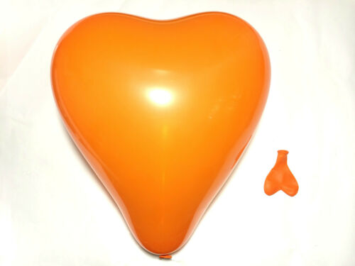 """100 x 10/"""" ❤ pc bleu en forme de coeur ballon baloons mariage st valentin anniversaire"""