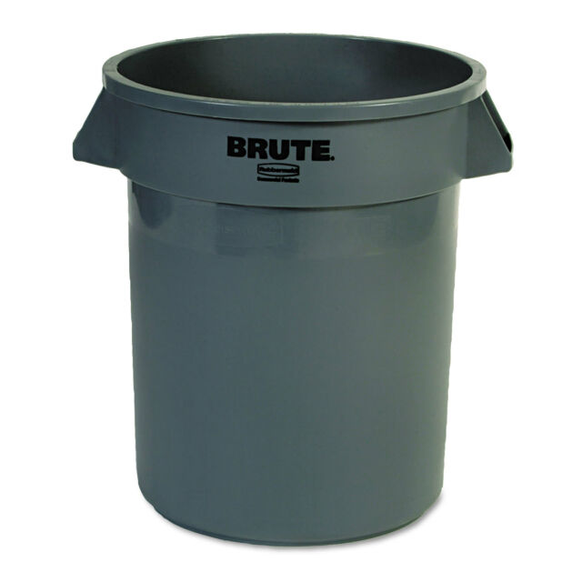Rubbermaid Commercial Round Brute Container Plastic 20 Gal