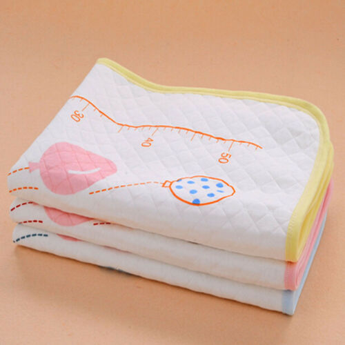 Baby Changing Diaper Travel Bed Bedding Urine Pads Mat Waterproof Cartoon