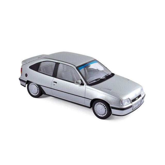 Norev Opel Kadett Gsi Model 1987 Silver Metallic Silver Metalic, 1:18