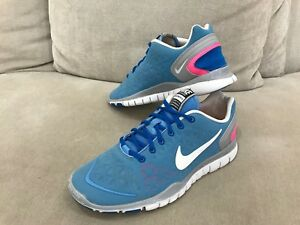 design intemporel cd60f c967d Details about Womens NIKE Free Fit 2 Blue Sneakers Runners Size US 8.5 / UK  6 / 25.5 cm
