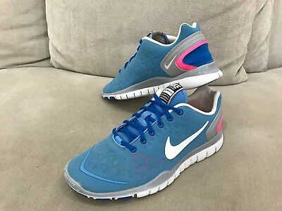 Womens NIKE Free Fit 2 Blue Sneakers Runners Size US 8.5 UK 6 25.5 cm | eBay
