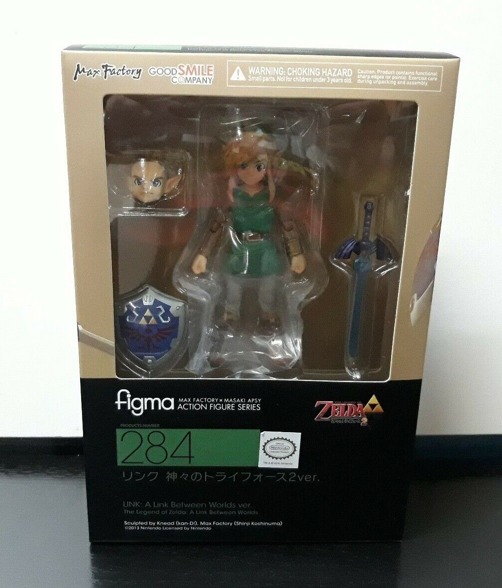 The The The Legend Of Zelda Link Between Worlds Figure Figma  NEW & SEALED  ORIGINAL be83ac