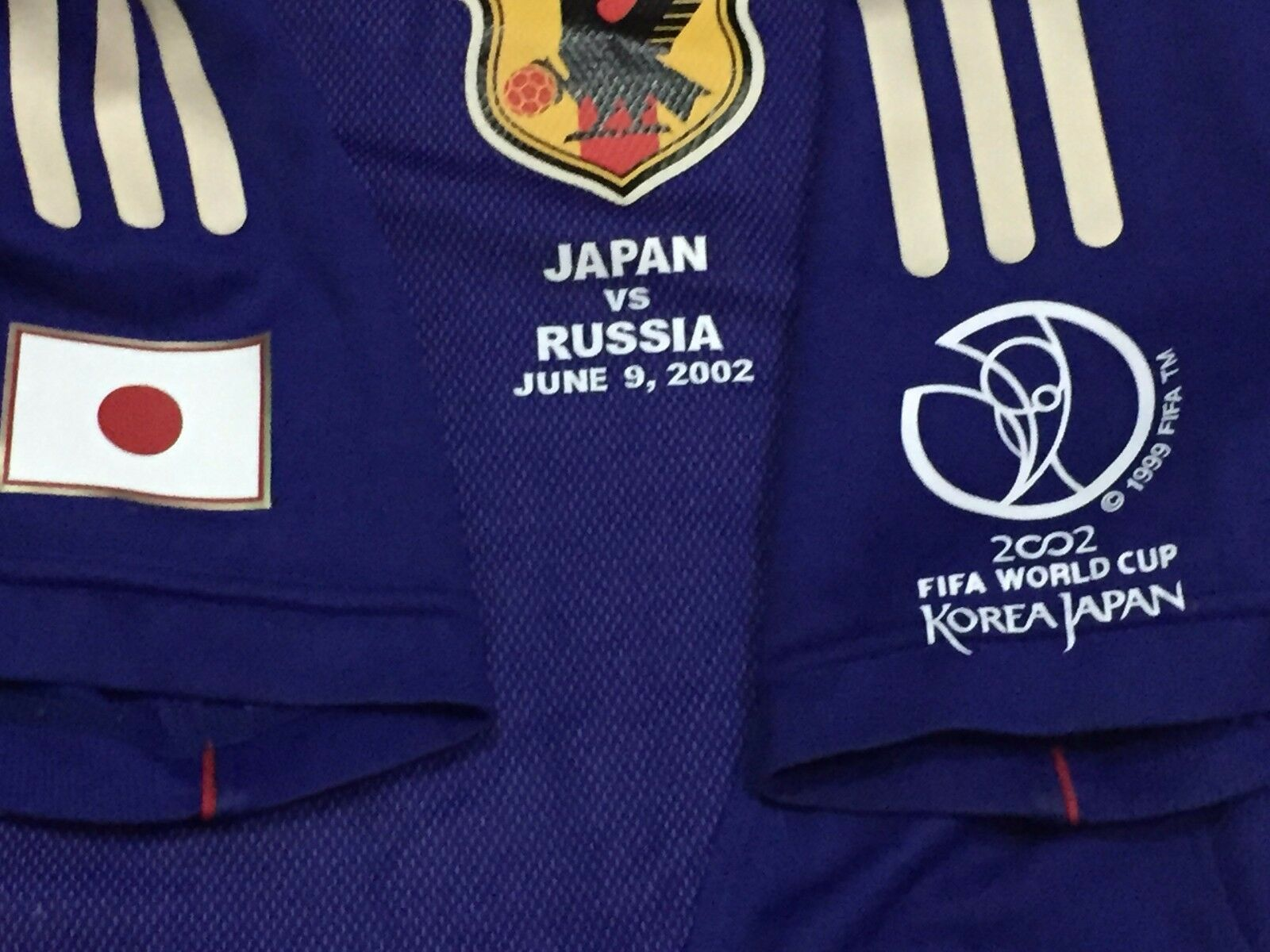JAPAN WC WC WC 2002 ORIGINAL SUZUKI PLAYERS JERSEY - HARD to FIND      a0a950