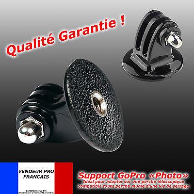 Support GOPRO adaptateur pour trépied pied photo Fixation Go Pro 2 3 4 5 6 SJCAM