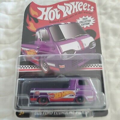 Hot Wheels LOT OF 2 1960s Ford Econoline Pickup GameStop Mail In FREE SHIPPING