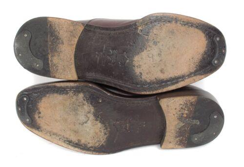 Casquette Vieillie Taille Barneys York Habilles Oxford Chaussures New Marron xq7fIS