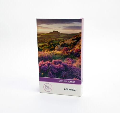 100x150mm Nuovo di Zecca Lee Filters Resina SUNSET Grad Filtro impostato