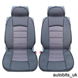 1-1-PREMIUM-GREY-BLACK-Car-Seat-Covers-Cushion-PEUGEOT-BOXER-LUXURY-MOTORHOME