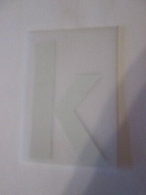 letter k Champions League Europa League Football Shirt name set Sporting ID