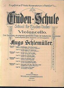Etueden-Schule-fuer-Violoncello-Heft-1-Hugo-Schlemueller