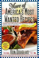 More of America's Most Wanted Recipes:  RECIPES FROM CHAIN RESTAURANTS