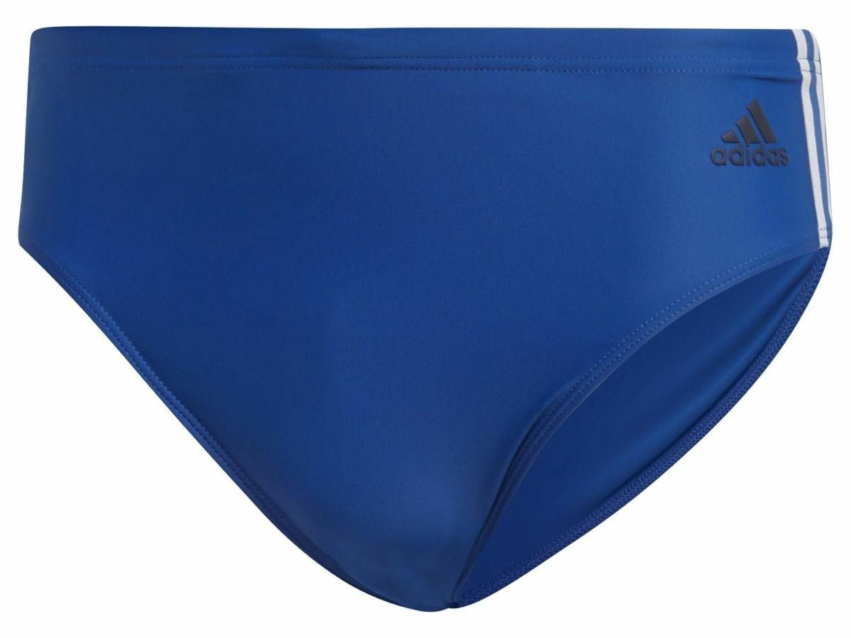 ADIDAS Badeslip Fitness 3-Streifen Blue