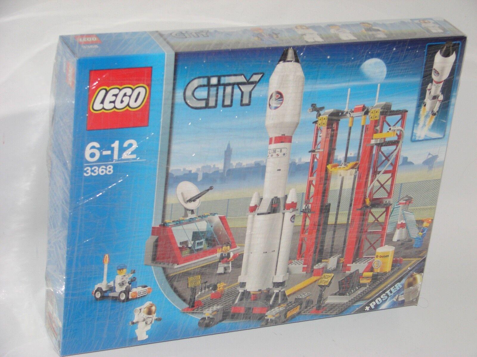 LEGO ® City 3368 missiles Station nouveau _ SPACE CENTER NEW En parfait état, dans sa boîte Boîte d'origine jamais ouverte _ Original Pictures
