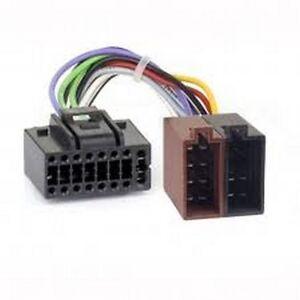 faisceau c ble adaptateur iso pour auto radio jvc kd r521. Black Bedroom Furniture Sets. Home Design Ideas