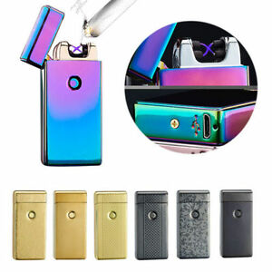 Lighter-Electric-Rechargeable-Arc-Usb-Windproof-Flameless-Dual-Plasma-BOXED