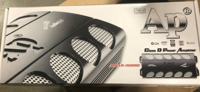 Audiopipe APCLE15001D Class D Monoblock Amplifier 1500w