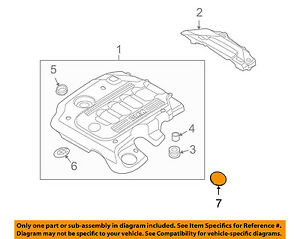 details about bmw oem 09 11 335d 3 0l l6 engine appearance cover cover 11147788915 BMW X1 Engine