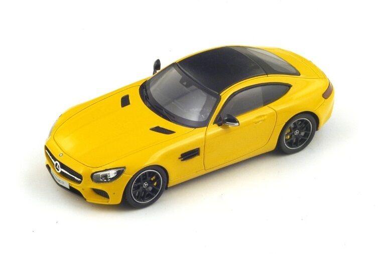 calidad oficial Mercedes Benz GT    amarillo  (Spark 1 43   S1072)  promociones de equipo