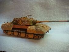 E-100 ausf B 1/72 resin model tank (Tier 10 Heavy Tank, World of Tanks)