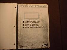 Vespa Catalog for 50, 90 &125 models