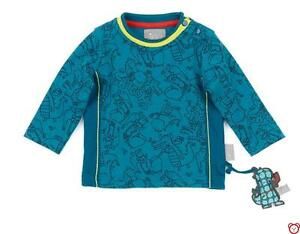 SALE-SIGIKID-Baby-Langarmshirt-LA-Shirt-034-Dragons-034-165503-NEU