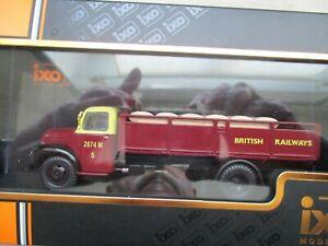 Camion miniature Ford Thames Et6 1953 Tru018 1/43 Boite Plexi Chemins de fer britanniques