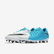 02a9bc22f item 1 NEW Nike Men Hypervenom Phelon III FG Soccer Cleats Blue White 852556 -104 SZ 12 -NEW Nike Men Hypervenom Phelon III FG Soccer Cleats Blue White  ...