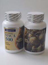 Maca 2  botles Root Extract High Potency Enhance Sexual Health, Potency, energy