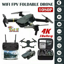 Drone X Pro WIFI FPV 1080P HD Camera 3Batteries Foldable Selfie RC Quadcopter 4K