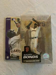 Barry Bonds LF / 25 San Francisco Giants McFarlane Series 5 White Uniform