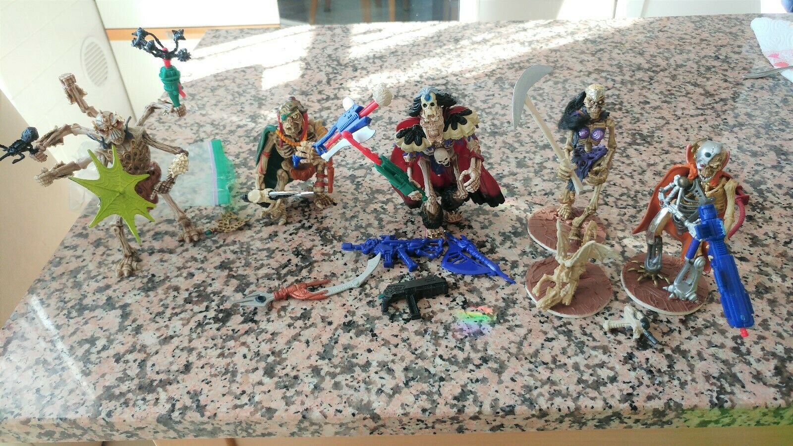Skeleton Warriors Action Figures Lot