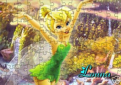 puzzle LA FEE CLOCHETTE  REF 27-120 PIECES AVEC OU SANS  PRENOM