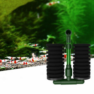Pecera-de-acuario-bioquimica-esponja-filtro-de-aire-bomba-doble-cabeza-Ventosa