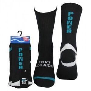 Port-Adelaide-Power-AFL-Football-Cotton-Sport-Socks