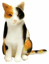8 Colored Animal Figure WNK Platz 1//12 Japanese Cat Black Cat Sitting