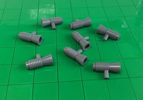 4349 8 Piece B4 # Lego Megaphone Speaker Minifig Accessories New Dark Grey